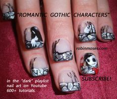 174 Best Halloween Nail Art Pictures With Tutorials Images On