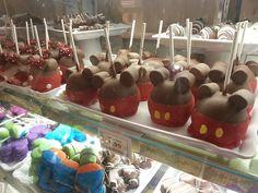 Disney's Magic Kingdom Main Street Bakery Mickey Mouse apples