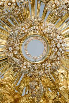 Splendor in gold . . . .