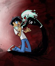 Danny  and dark Danny