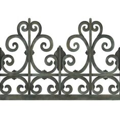 Our Victorian Wrought Iron Trompe L'oeil Wall Mural Stencils includes instructions for creating a realistic wall art and mural railing of any height by reflecti