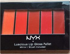 nyx lip gloss for summer