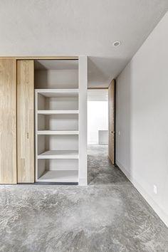 Casas cuatas sala de concreto aparente pisos de for California closets mexico