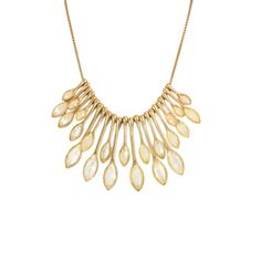 I love the Lydell NYC Crystal Statement Necklace from LittleBlackBag