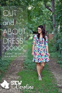 Out and About Dress by Sew Caroline Pattern Preview 1 | Indiesew.com