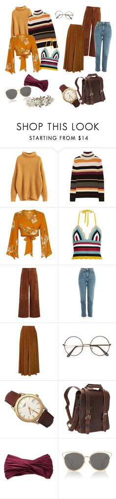 """mood for 2018 (late 70's/early 80's)"" by mysweatpants ❤ liked on Polyvore featuring Paul & Joe, River Island, RED Valentino, Joseph, Topshop, Diane Von Furstenberg, Longines, Vagabond Traveler, Eugenia Kim and Christian Dior"