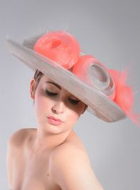 William Chambers Millinery S/S 2015.