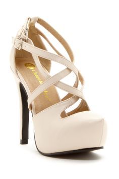 Strappy Mary Jane Pumps ♥