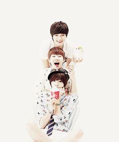 Infinite's L, Sungkyu, Sungjong