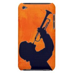 #Trumpet Player Silhouette #ipod Touch Case #Zazzle By digitalfotis