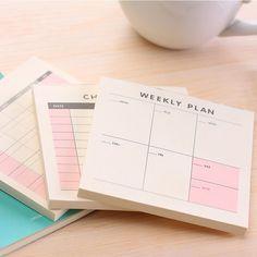 Calendar Calendars, Planners & Cards Spirited 17*16cm Creative Desk Standing Paper Organizer Schedule Planner Notebook Escolar 2019 Year New Kawaii Cartoon Cat Calendar