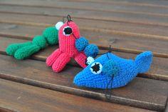 Crochet pram chain. Handmade.