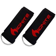 Neoprene Ankle Straps By Ignite Fitness Pk), Intensify Your Machine Cable Workouts for Abs, Legs, and Glutes - Durable Fitness Cuffs with D Ring and High Strength Velcro - Fits Both Men and Women -- See this great product. Workout Accessories, Fitness Accessories, Cable Workout, Ankle Weights, Ankle Straps, Glutes, Fun Workouts, Thighs, Abs
