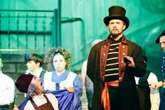"""Part of our mission is to showcase local talent."" Glyndon Area Players, a theater group started at Sacred Heart, puts on Broadway-caliber productions. See when they perform ""Les Miserables"" --"