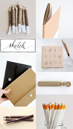 Got a hankering to start sketching? This pretty collection is just the thing to get you started.