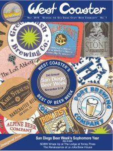 West Coaster Beer Brewery Magazine San DiegoView April 2017 online!(PDF(~193mb) / E-Reader) The PDF is high resolution, and the E-Reader is best for quick web/mobile viewing (tablet/mobilecompatible) If you haven't already… PL…