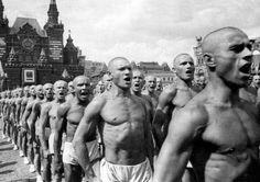 Всесоюзный парад физкультурников на Красной площади, 1937 год