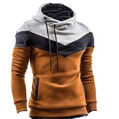Herren Kapuzenpullover Colour-Block Hoodie Pullover(46,Khaki) Fashion Season www.amazon.de/... . . . . . der Blog für den Gentleman - www.thegentlemanclub.de/blog
