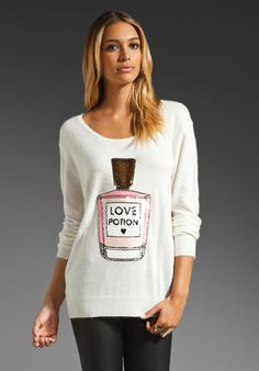 WILDFOX COUTURE White Label Sequin Potion in Cream at Revolve Clothing - Free Shipping!