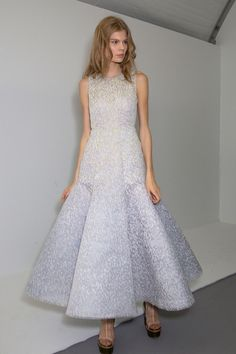 Christian Dior at Couture Fall 2015 - Backstage Runway Photos