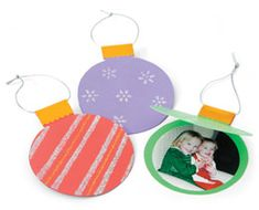 cute for parents: Photo ornament