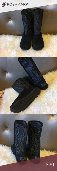❣️Warm❣️ sketchers boots size 6 Super comfy and cute! Skechers Shoes Winter & Rain Boots
