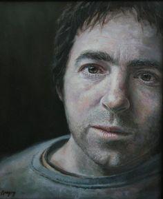 Gregory Wellman - Self Portrait