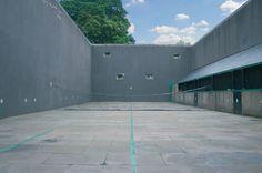 Falkland Palace tennis court