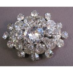 A REALLY nice vintage brooch...possibly Weiss