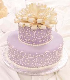 Like the orchid-tinted icing!