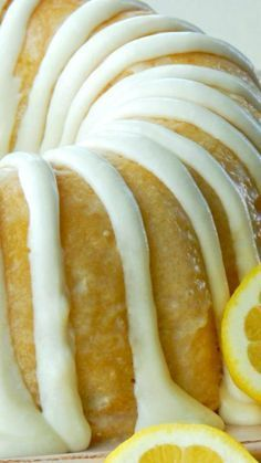 Italian Lemon Pound Cake Recipe ~ So delicious... It isn't the over powering mouth puckering lemon flavor like some desserts. It is so soft and moist.
