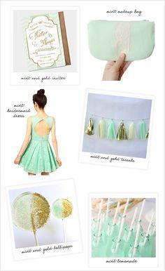 mint wedding ideas http://www.weddingchicks.com/2013/09/04/diy-wedding-favor-decoration/