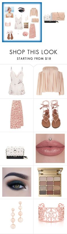 """""""just do it"""" by kemo-2 ❤ liked on Polyvore featuring Elizabeth and James, Beach Riot, Isabel Marant, Too Faced Cosmetics, Stila, Rebecca Minkoff and ASOS"""