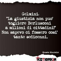 #kotiomkin #renatominutolo #berlusconi
