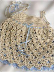 I want to make this dress #crochet via AnniesAttic