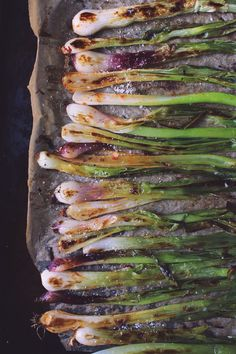 Red Curry Roasted Spring Onions | @withfoodandlove