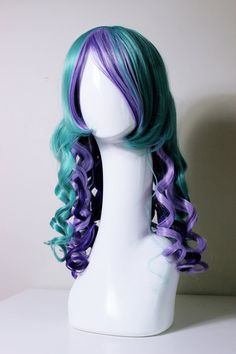 Ever After High Maddie Hatter cosplay wig by CookieKwigs on Etsy