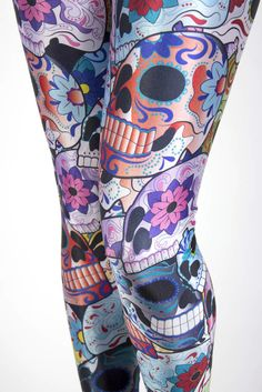 DAY OF THE DEAD LEGGINGS    $75.00 AUD