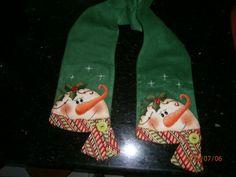 Bufanda de navidad Build A Snowman, Snowman Crafts, Christmas Projects, Diy And Crafts, Christmas Crafts, Christmas Decorations, Christmas Ornaments, Holiday Decor, Christmas Sewing