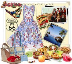 """Fiesta Siesta by Sheniq"" by sheniq ❤ liked on Polyvore"