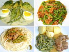 Fazolové lusky v pikantní smetanové omáčce a další recepty na zelené fazolky | | MAKOVÁ PANENKA Spaghetti, Food Porn, Ethnic Recipes, Lunches, Bulgur, Noodle, Treats