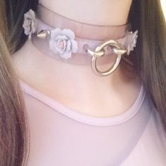 Becoming obsessed w chokers and collars lately Daddys Girl, My Baby Girl, Kawaii Fashion, Cute Fashion, Show No Mercy, Diy Vetement, Kawaii Accessories, Accesorios Casual, Kawaii Clothes