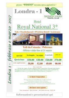 LONDRA 1 da Febbraio a Marzo – con volo da Catania e Palermo – Garmon Viaggi Tour Operator