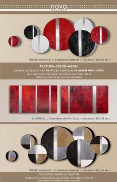 cuadros abstractos rojos minimalismo - Buscar con Google