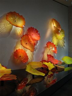Dale Chihuly exhibit at MFA - Boston