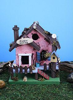 Birdhouses  Land n Sea Fairy House Bird House