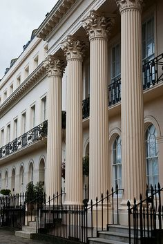 Chester Terrace, London - The price of a home in this area of London can run to 39,000,000 pounds!