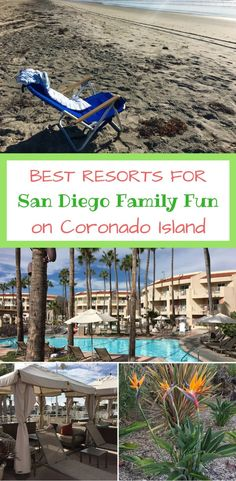 Spending time with the family in San Diego? Coronado Island offers the best beaches and charming downtown streets to stroll. A quick ferry ride to downtown San Diego too.