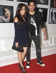 Sidharth Malhotra and Shraddha Kapoor at the #DabbooRatnaniCalendar launch. #Bollywood #Fashion #Style #Beauty #Hot #Punjabi