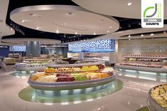 FOOD COURTS! Landmark supermarket by Hugh A. Boyd Architects, Manila – Philippines